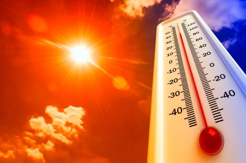 sol y calor